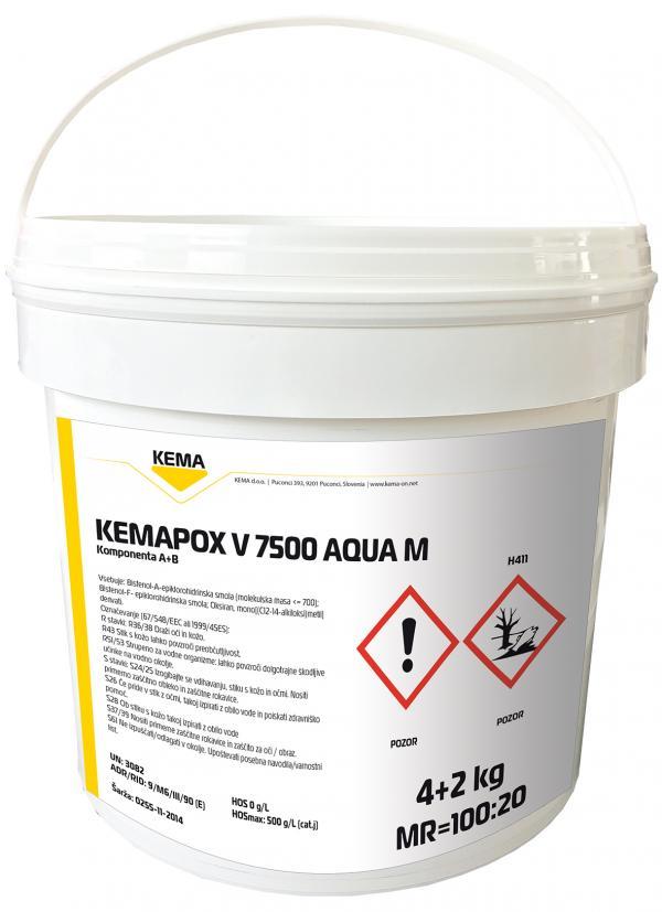 KEMAPOX V 7500 AQUA M